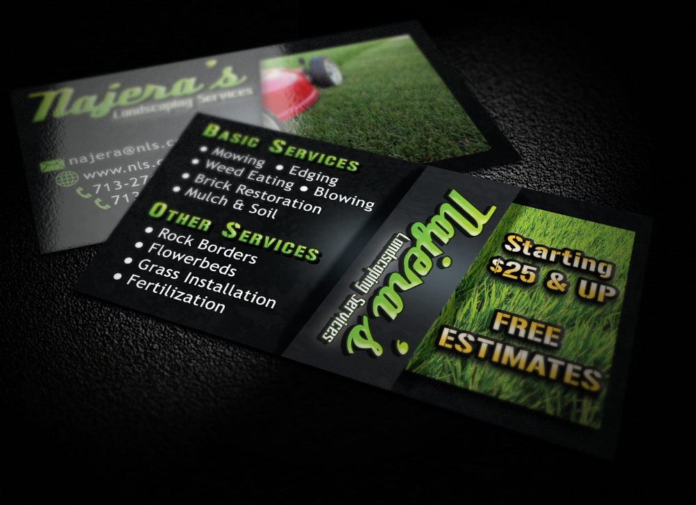 Services business cards yeniscale services business cards colourmoves