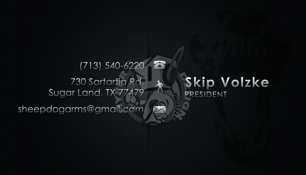 Hyperdesign sheepdog arms business cards sheepdog arms business cards reheart Images
